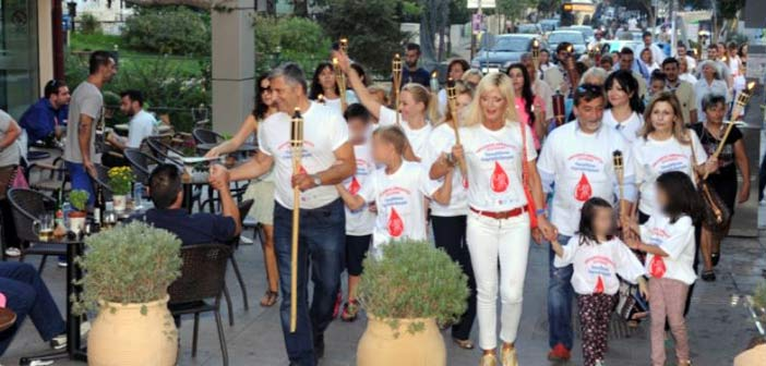 Το Μαρούσι υποδέχεται τη Φλόγα της Αγάπης την Πέμπτη 10 Σεπτεμβρίου