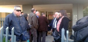 Ο Σ. Ρούσσος σε διαμαρτυρία για το ΠΕΔΥ