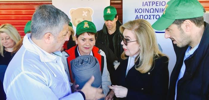 Στο Κέντρο Προσφύγων και Μεταναστών στο Ελληνικό η ΚΕΔΕ