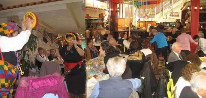 Γέλιο & διασκέδαση στον αποκριάτικο χορό των ΚΑΠΗ Χαλανδρίου