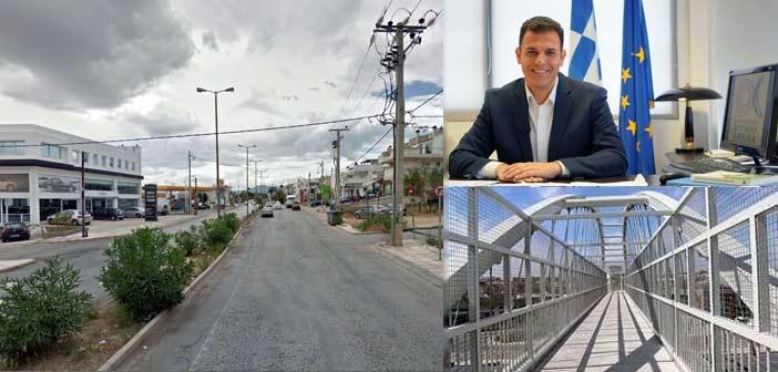 Μελέτη για πεζογέφυρα στη Λ. Αναπαύσεως και άλλα δύο έργα στα Βριλήσσια