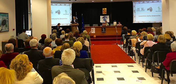 Σε εκδήλωση του Διαλεκτικού Ομίλου Αμαρουσίου παρέστη ο δήμαρχος