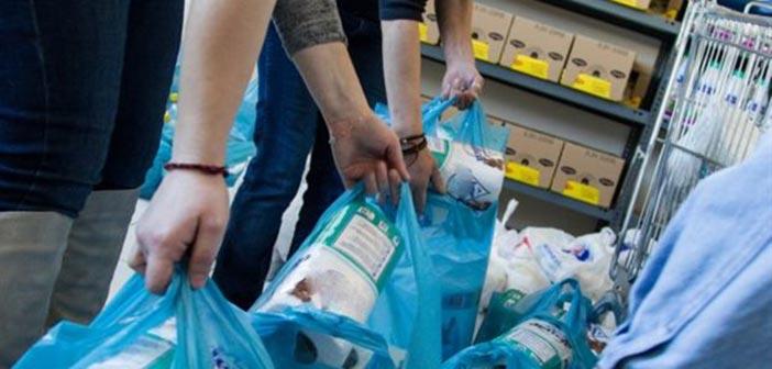 Διανομή προϊόντων σε δικαιούχους ΤΕΒΑ Δήμου Νέας Ιωνίας