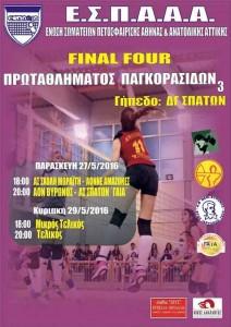 Αφίσα ΕΣΠΑΑΑ - final4