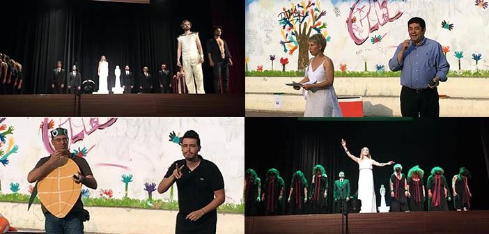 Κοντά στο Σχολείο Κωφών και στη θεατρική ομάδα του ΠΕΑΠ ο δήμαρχος