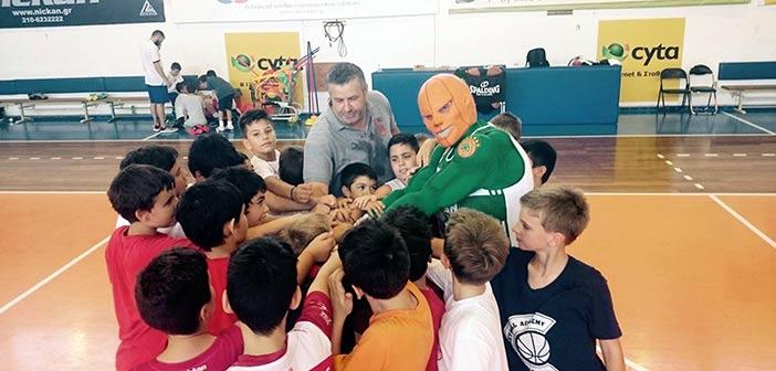 Αυλαία Β΄ περιόδου Summer Camp Πανερυθραϊκού με τον «Mr Green»