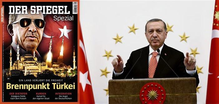 Οργή Άγκυρας για εξώφυλλο του «Der Spiegel»