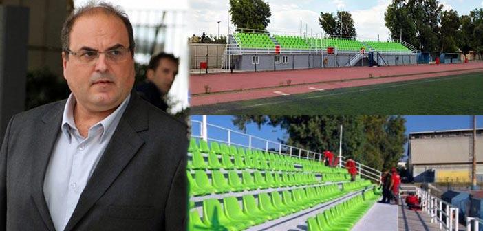 Σ. Ρούσσος: Επενδύουμε στον αθλητισμό προς όφελος όλων των δημοτών