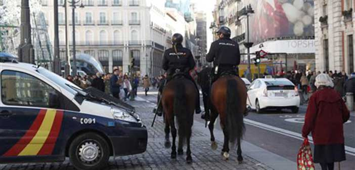 Με φράχτες οχυρώνει η Μαδρίτη την Πουέρτα δελ Σολ για την Πρωτοχρονιά