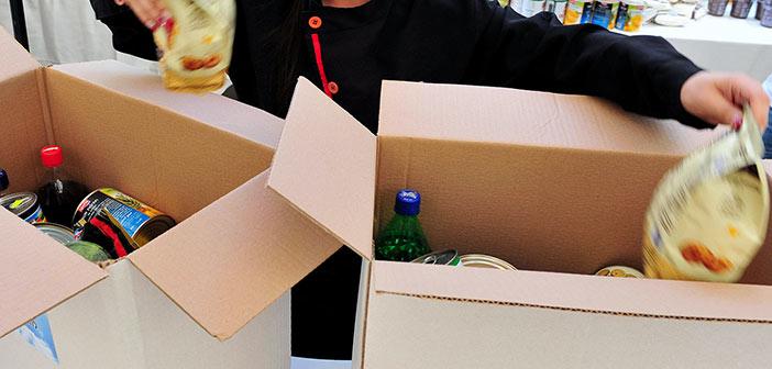 Διανομή προϊόντων σε δικαιούχους ΚΕΑ – ΤΕΒΑ Δήμου Πεντέλης