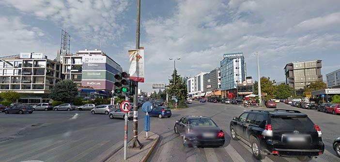Νέα πεζογέφυρα στη συμβολή Αγ. Κωνσταντίνου & Λ. Κηφισιάς βάζει μπροστά το Μαρούσι