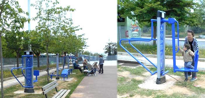 Προσβάσιμα σε κάθε πολίτη και επισκέπτη τα υπαίθρια γυμναστήρια στο Μαρούσι
