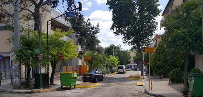 Συνεχίζεται η διαμόρφωση δρόμων ήπιας κυκλοφορίας έξω από σχολεία στο Ηράκλειο
