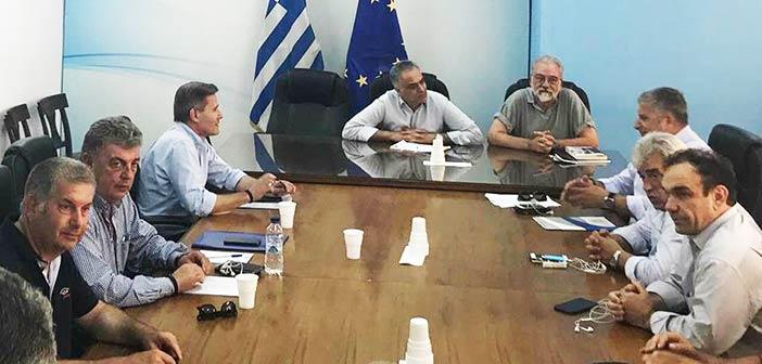 Συμμετοχή προέδρου ΣΠΑΠ στη συνάντηση ΚΕΔΕ με τον υπ. Εσωτερικών