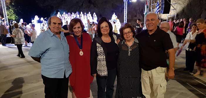 Σε μουσική βραδιά αφιέρωμα στην Παλαιστίνη εκπροσωπήθηκε ο Δήμος Αμαρουσίου