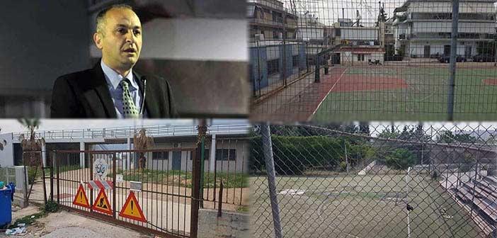 «Σφυροκόπημα» Σαραούδα για κεντρική πλατεία κι αθλητικούς χώρους στη Μεταμόρφωση