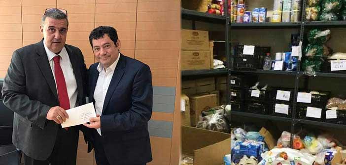 Δωρεά 1.500 ευρώ στο Κοινωνικό Παντοπωλείο Λυκόβρυσης – Πεύκης