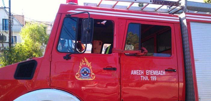 Πυρκαγιά ξέσπασε σε όχημα στο Ψυχικό