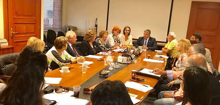 Παρουσία του δημάρχου Αμαρουσίου συνεδρίαση του νέου Δ.Σ. του ΟΚΟΙΠΑΔΑ
