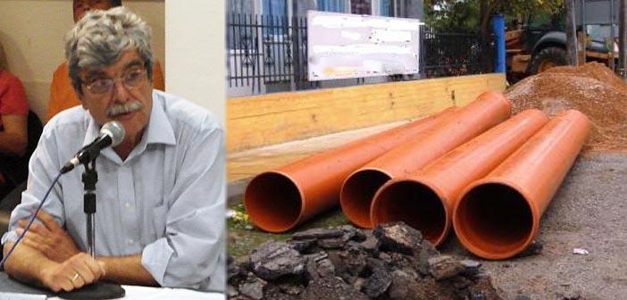 Ενημέρωση για τα αντιπλημμυρικά έργα στο Μαρούσι ζητεί ο Λ. Μαγιάκης