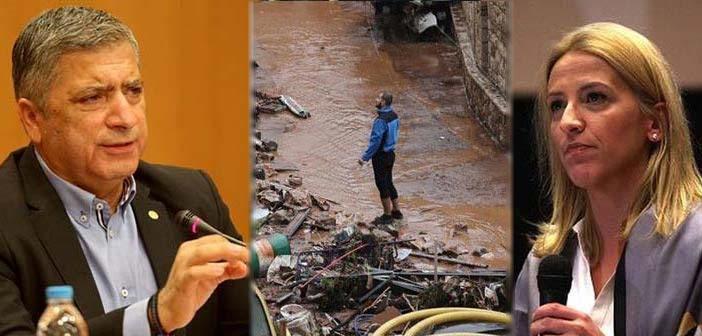 Γ. Πατούλης: Χρηματοδοτήστε επιτέλους τα έργα αντιπλημμυρικής προστασίας κα Δούρου