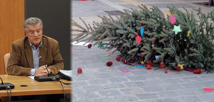 «Ερωτηματικά για τον ανύπαρκτο χριστουγεννιάτικο στολισμό Πεύκης – Λυκόβρυσης»