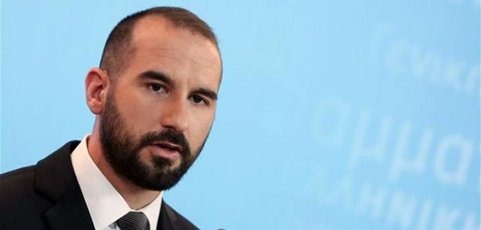 Δ. Τζανακόπουλος: Η ανάληψη της πολιτικής ευθύνης θα μεταφραστεί σε ενέργειες και παρεμβάσεις