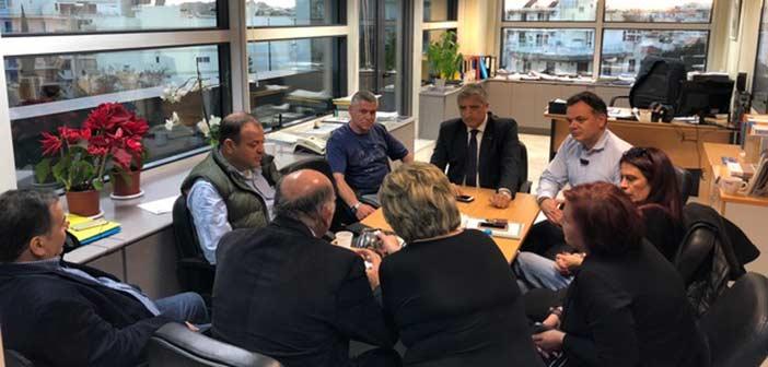Συνάντηση δημάρχου Αμαρουσίου με τον Σύλλογο Γονέων του 18ου Δημοτικού