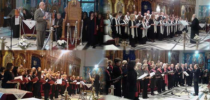 Μοναδική βραδιά με εκκλησιαστικούς ύμνους στον Ι.Ν. Αγ. Αθανασίου Πολυδρόσου