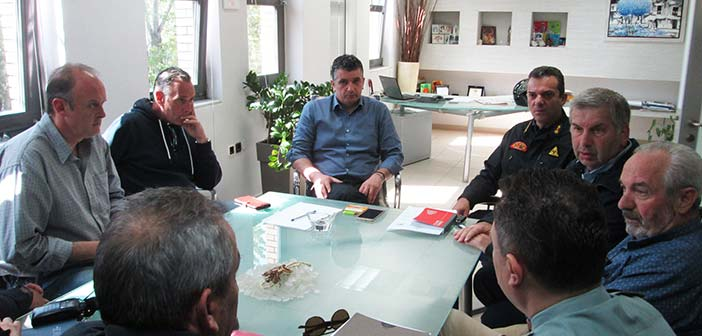 Σε συνεδρίαση της Πολιτικής Προστασίας Δήμου Βριλησσίων ο πρόεδρος του ΣΠΑΠ