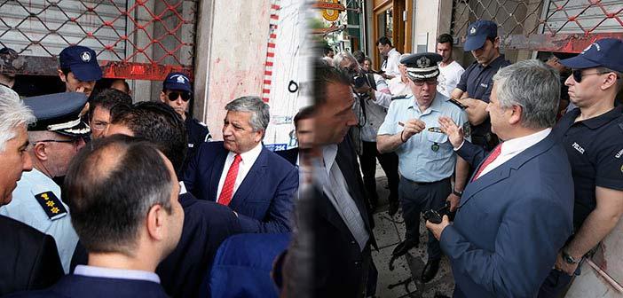 Γιώργος Πατούλης: Με κλειστά ρολά στο υπουργείο και αστυνομία δεν γίνεται διάλογος