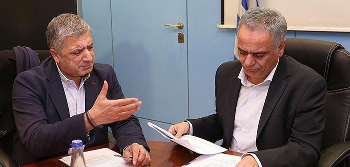 Συνάντηση ΚΕΔΕ με τον υπουργό Εσωτερικών για το ν/σ «Κλεισθένης Ι»
