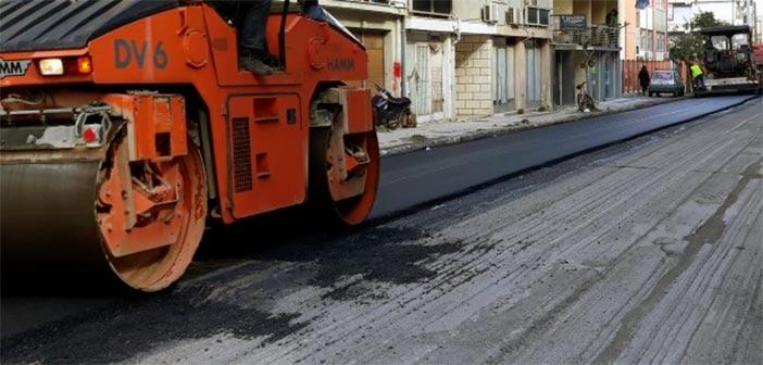 Έργο οδοποιίας στον Δήμο Ωρωπού με χρηματοδότηση της Περιφέρειας Αττικής