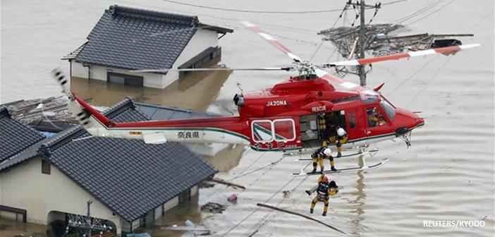 Ιαπωνία: 141 νεκροί από τις πλημμύρες και τις σφοδρές βροχοπτώσεις
