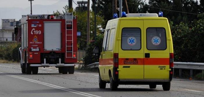 Μεγάλη προληπτική κινητοποίηση του ΕΚΑΒ για τη φωτιά στην Εύβοια