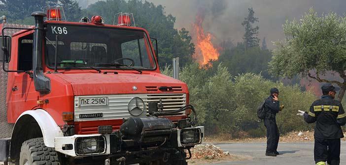 Δύο πυρκαγιές μικρής έκτασης το βράδυ του Σαββάτου στην Αττική