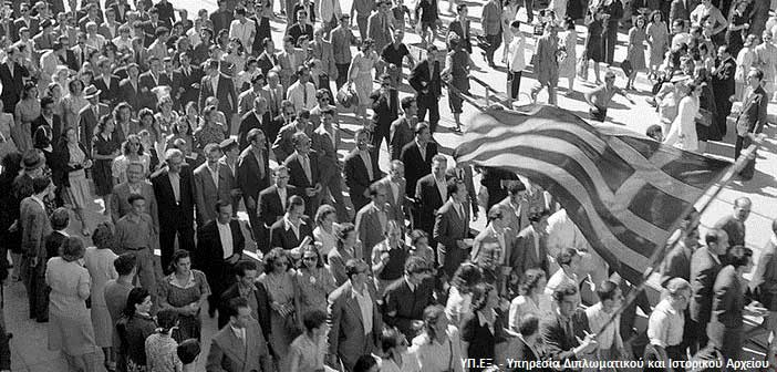Μαρία Φαραντούρη και Ρίτα Αντωνοπούλου τραγουδούν για την… Απελευθέρωση της Αθήνας