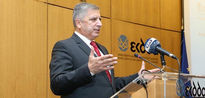 Γ. Πατούλης: Η Τοπική Αυτοδιοίκηση έχει ανάγκη από ένα ολοκληρωμένο τοπικό αναπτυξιακό πρόγραμμα