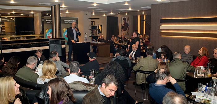 Συγκέντρωση του υποψηφίου δημάρχου Λ. Κοντουλάκου στη Νέα Πεντέλη
