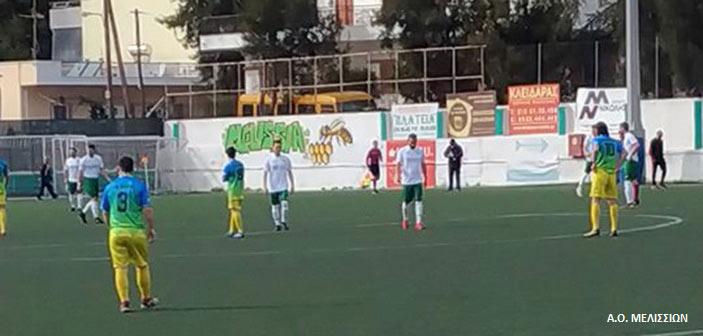 Τα Μελίσσια κέρδισαν 2-0 την Ιεράπολη στην επανάληψη του αγώνα που είχε διακοπεί