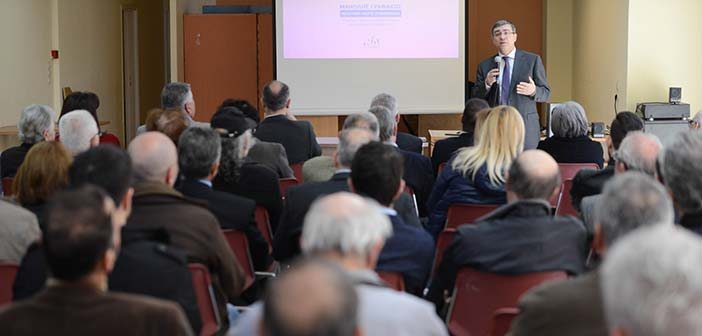 Ομιλία στη Μεταμόρφωση πραγματοποίησε ο υποψήφιος βουλευτής Μ. Γραφάκος