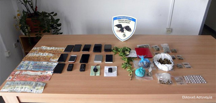 Τρίκαλα: Μπαράζ συλλήψεων διακινητών χασίς και κοκαΐνης