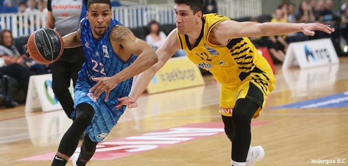 Ήττα του Χολαργού από την ΑΕΚ, η οποία πήρε την πρόκριση στα playoffs της Basket League