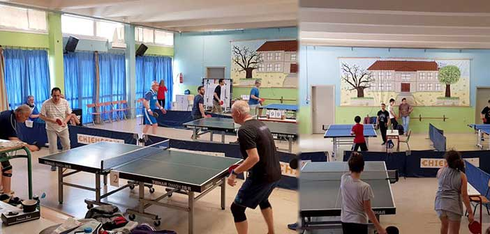 Με εσωτερικούς Αγώνες Πινγκ – Πονγκ ολοκληρώθηκαν τα προγράμματα του Αθλητικού Κέντρου Αμαρουσίου
