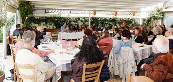 Αντιπροσωπεία της παράταξης Δράση για μια Άλλη Πόλη στα Άνω Βριλήσσια