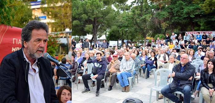 Ανδρέας Γκιζιώτης στη συγκέντρωση του ΚΚΕ: Αντιλαϊκό το έργο της διοίκησης Σταθόπουλου