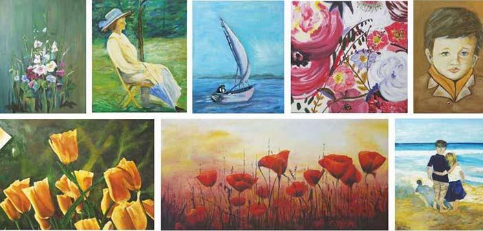 Έκθεση ζωγραφικής από την ομάδα του ΚΑΠΗ στο δημαρχείο Παπάγου – Χολαργού