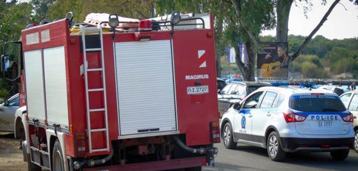 Δύο πυρκαγιές ξέσπασαν σε διαφορετικά σημεία στο Μαρούσι