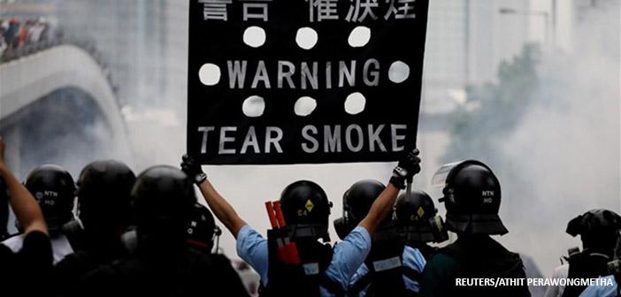 Χονγκ-Κονγκ: Νέο κύμα διαδηλώσεων με αίτημα να παραιτηθεί η αρχηγός της κυβέρνησης