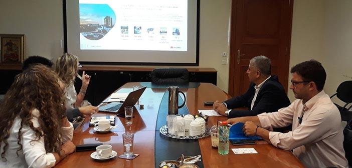 Για εφαρμογές smart & safe city στην Τοπική Αυτοδιοίκηση ενημερώθηκε ο Γ. Πατούλης